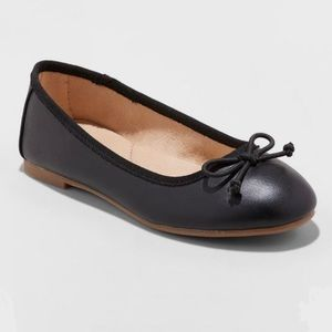 Girl's Cat & Jack Stacy Ballet Flats Size 5, NWT